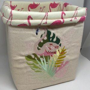 tropical-flamingo-basket