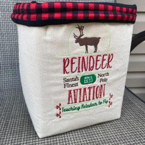 reindeer-basket